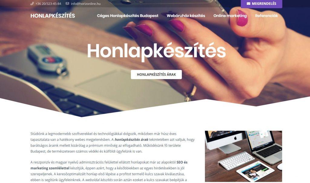 Izgalmas WordPress honlapkészítés