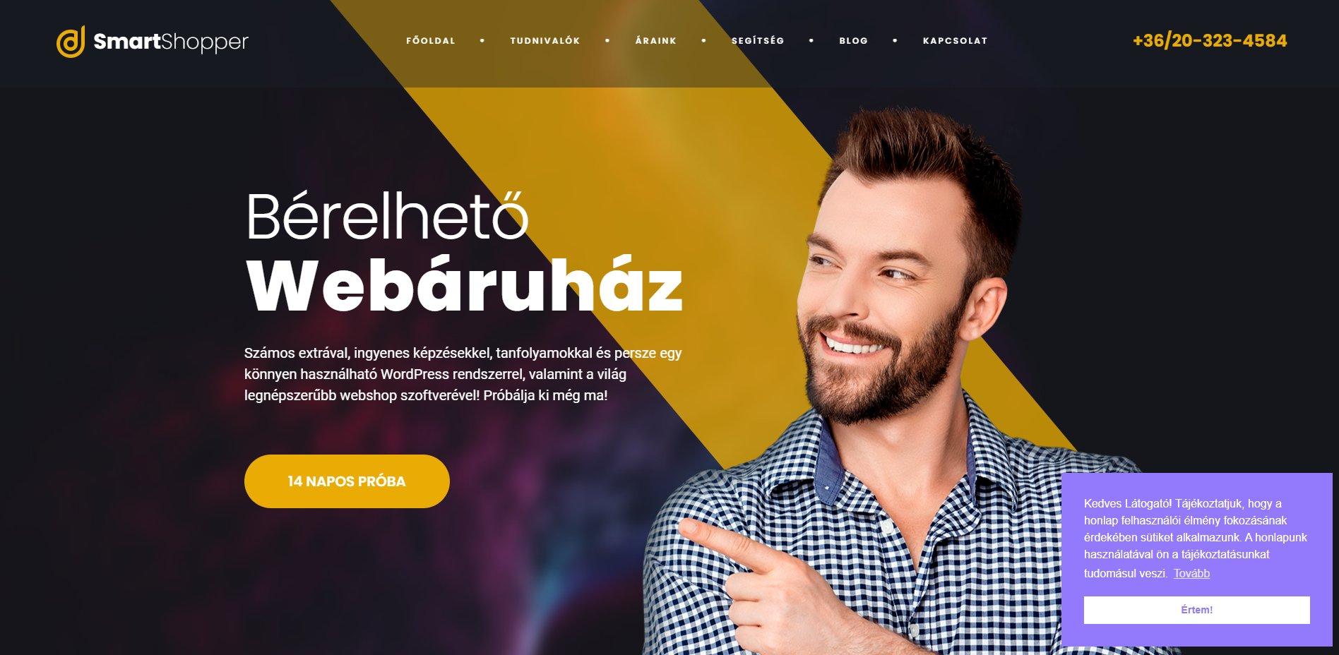 A bérelhető webáruház forradalma