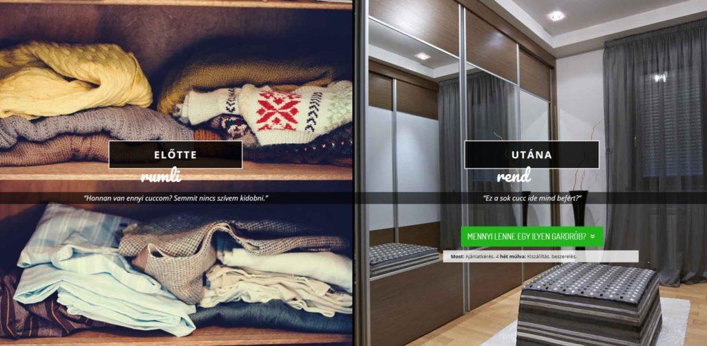 Neked melyik a jó: Ikea PAX vagy egyedi gardróbszekrény?